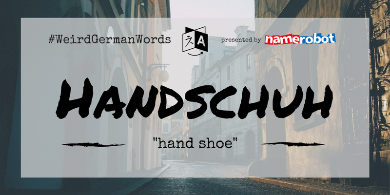 Handschuh-Weird-German-Words